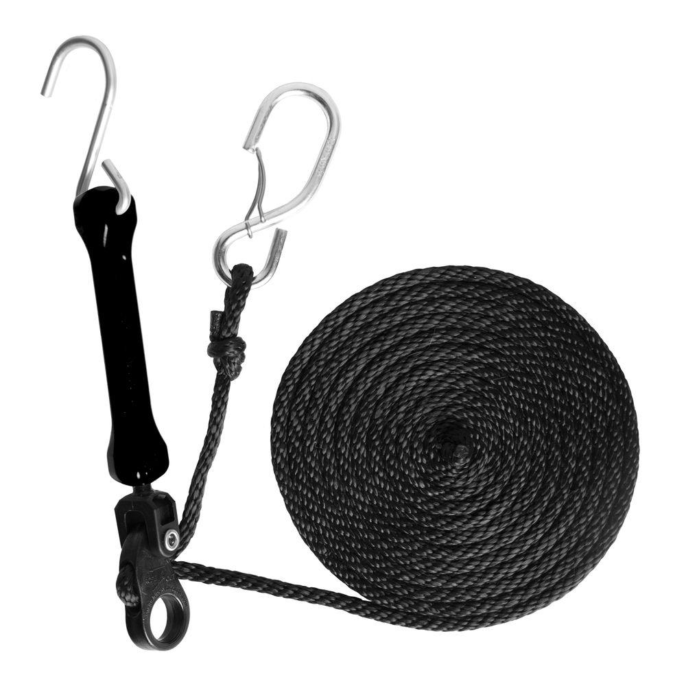 The Perfect Bungee 12 ft. Polyester Rope and 5 in. Polyurethane Bungee