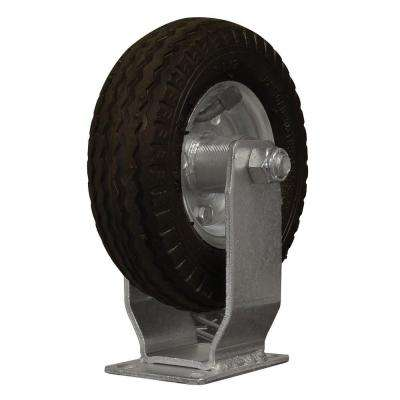 6 in. Air-Ride Pneumatic Rubber Fixed