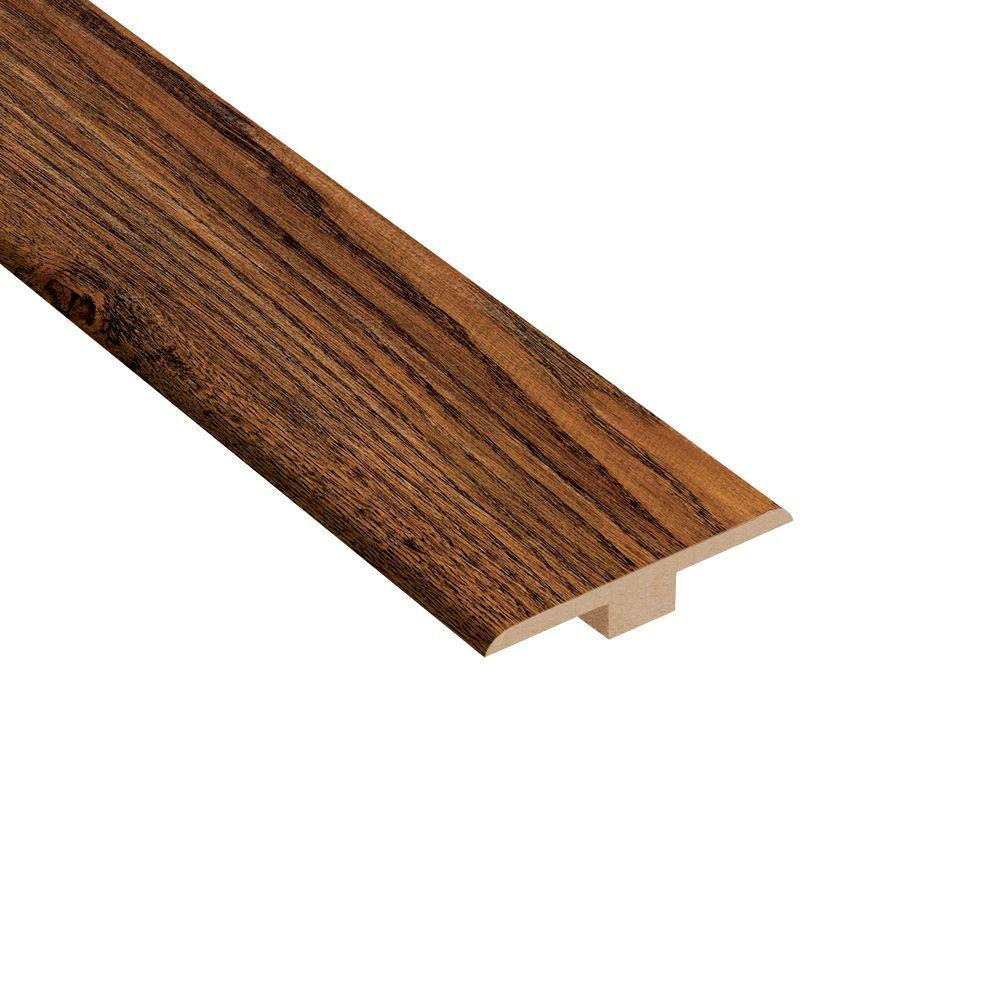 Home Legend Camano Oak 1/4 in. Thick x 1-7/16 in. Wide x 94 in. Length Laminate T-Molding