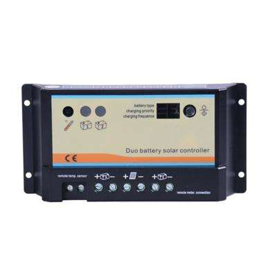 20 Amp PWM Duo Battery Solar Charge Controller