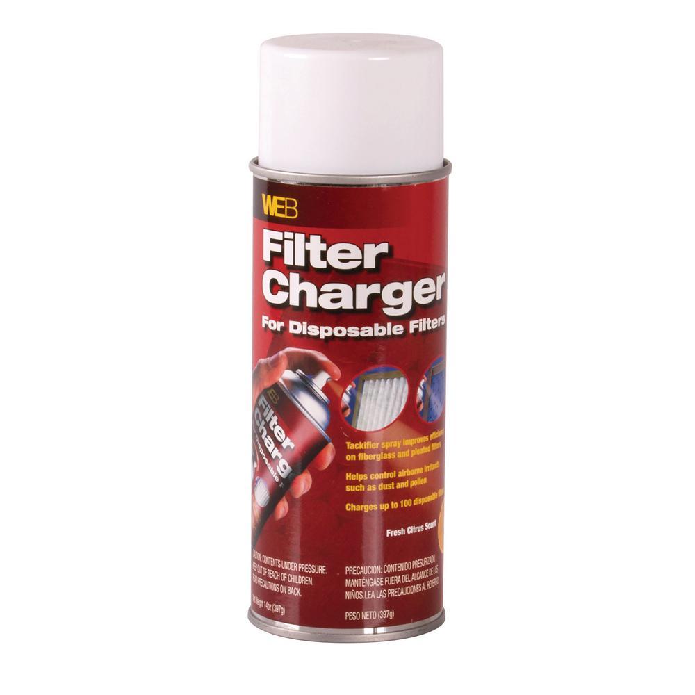 14 oz. Aerosol Filter Charger