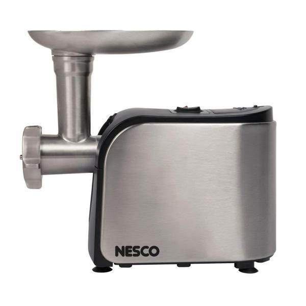 Nesco 500 W 0.67 HP Stainless Steel Electric Meat Grinder with