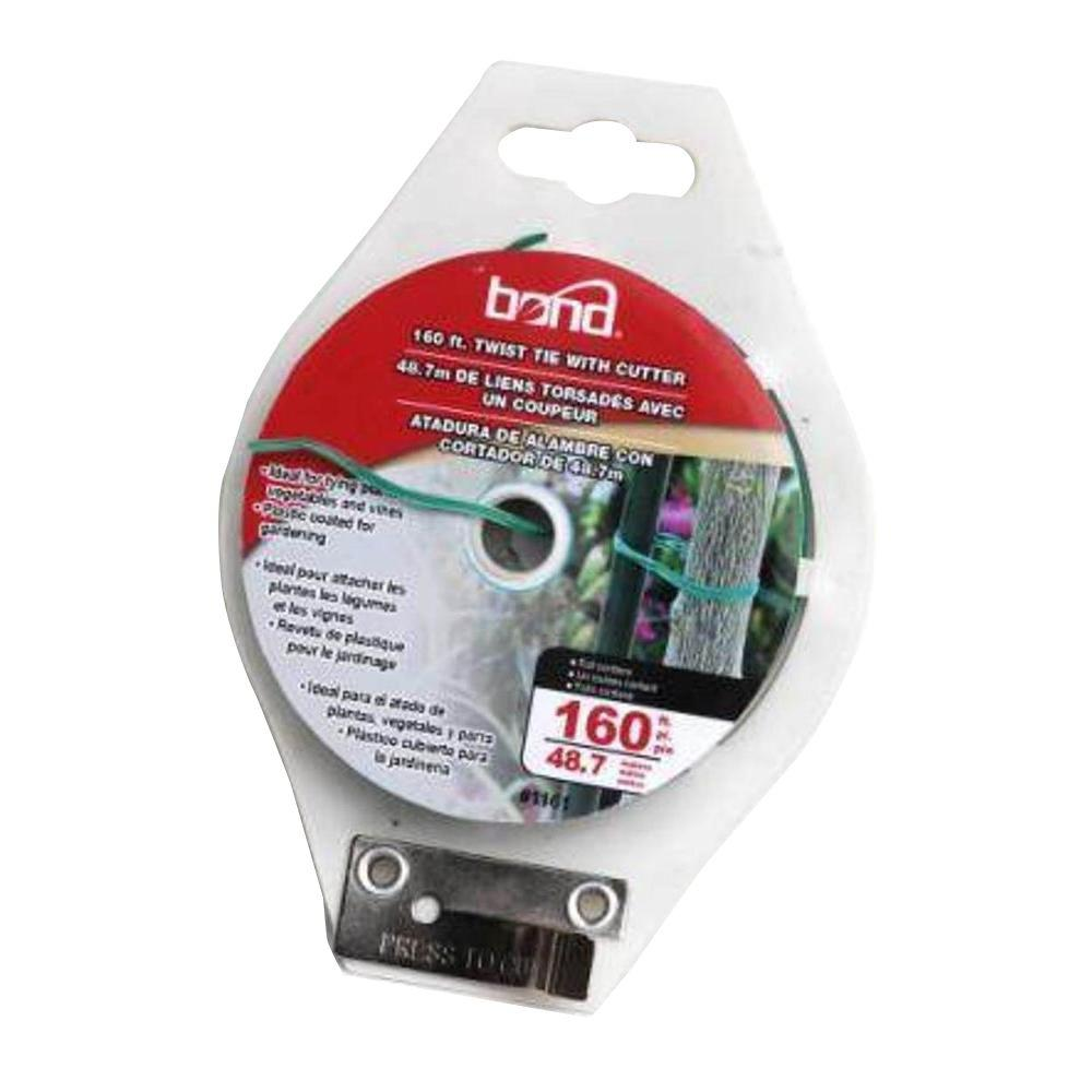 Bond Manufacturing 160 ft. Twist Tie Spool-1161PDQ - The Home Depot