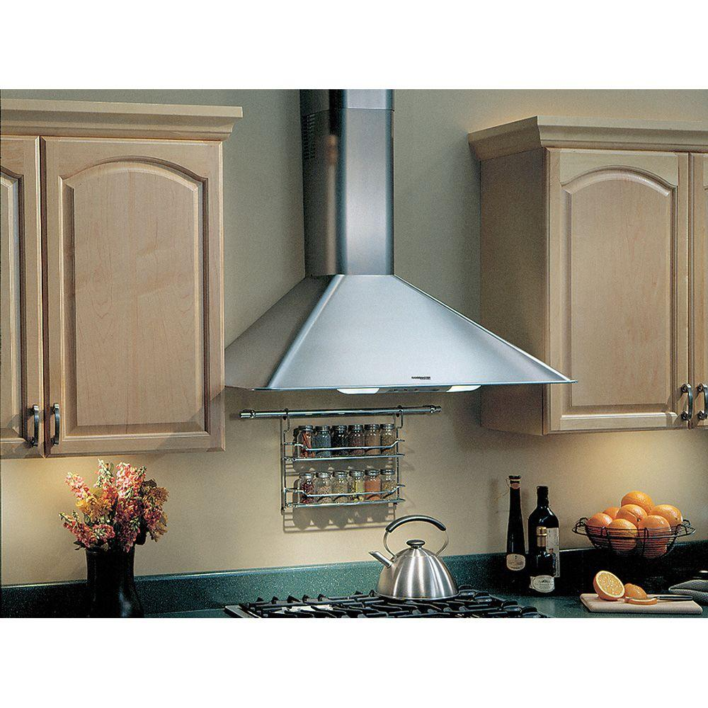 Broan Elite RM50000 30 in. Convertible Wall Mount Range Hood with Light in  Stainless Steel