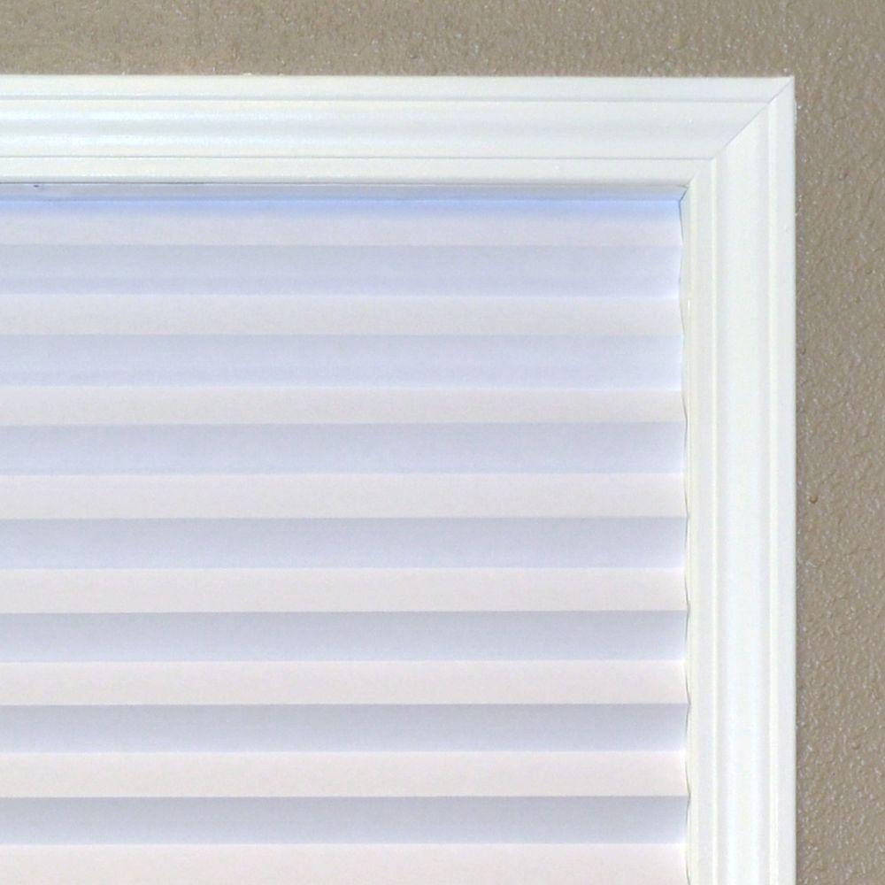 Redi Shade Original 36-Inch Light Filtering Temporary Window Shade White #3012207