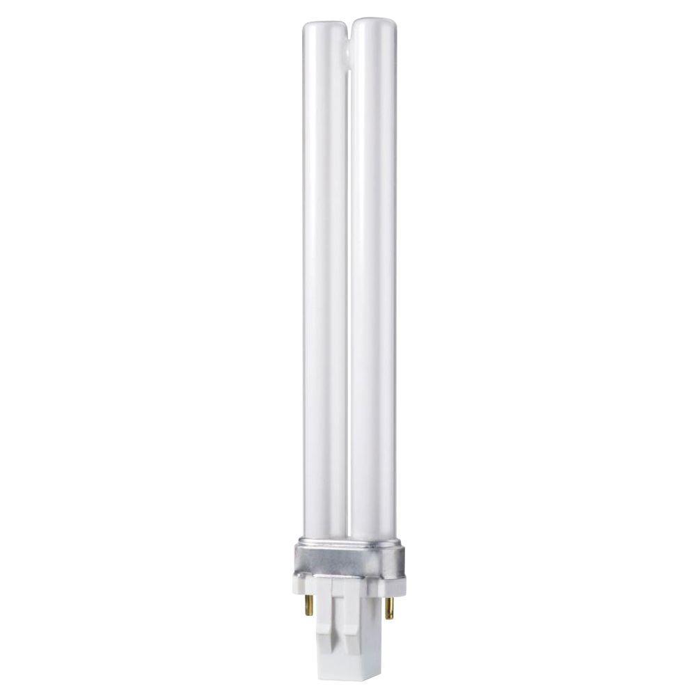 Philips 13-Watt Soft White PL-S 2-Pin (GX23) Energy Saver Compact Fluorescent (Non-Integrated) Light Bulb