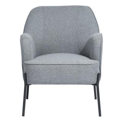 Dugan Gray Upholstered Accent Chair