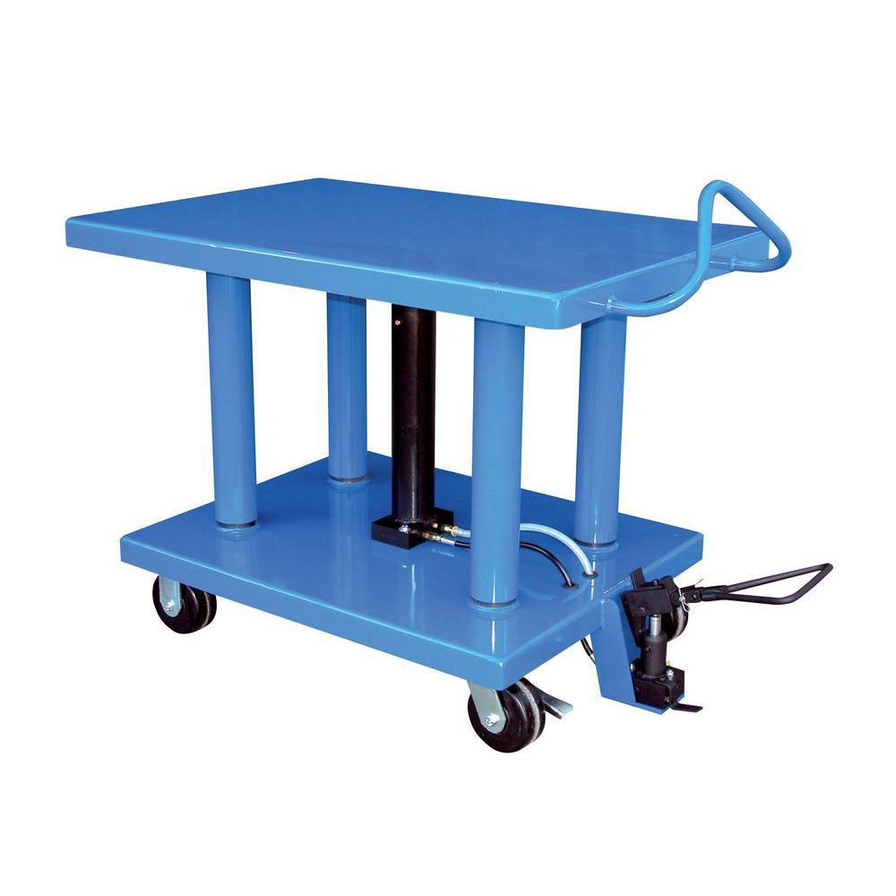 Vestil 6,000 lb. 24 in. x 36 in. Hydraulic Post Table