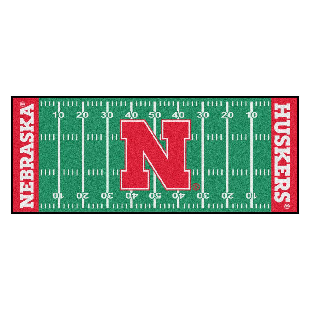 Nebraska Cornhuskers Blackshirts Football Field Runner Rug: FANMATS University Of Nebraska 2 Ft. 6 In. X 6 Ft