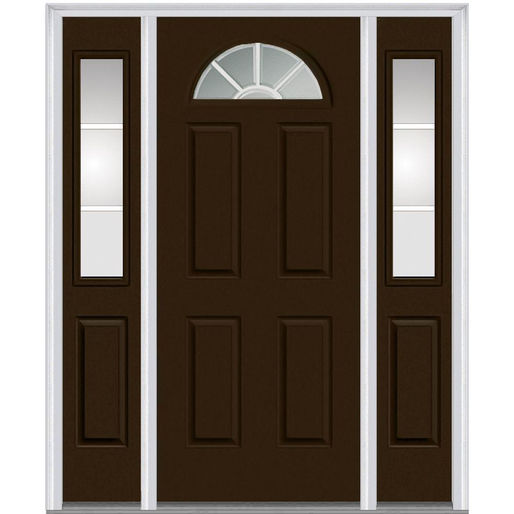 brown front doorBrown  Fiberglass Doors  Front Doors  The Home Depot