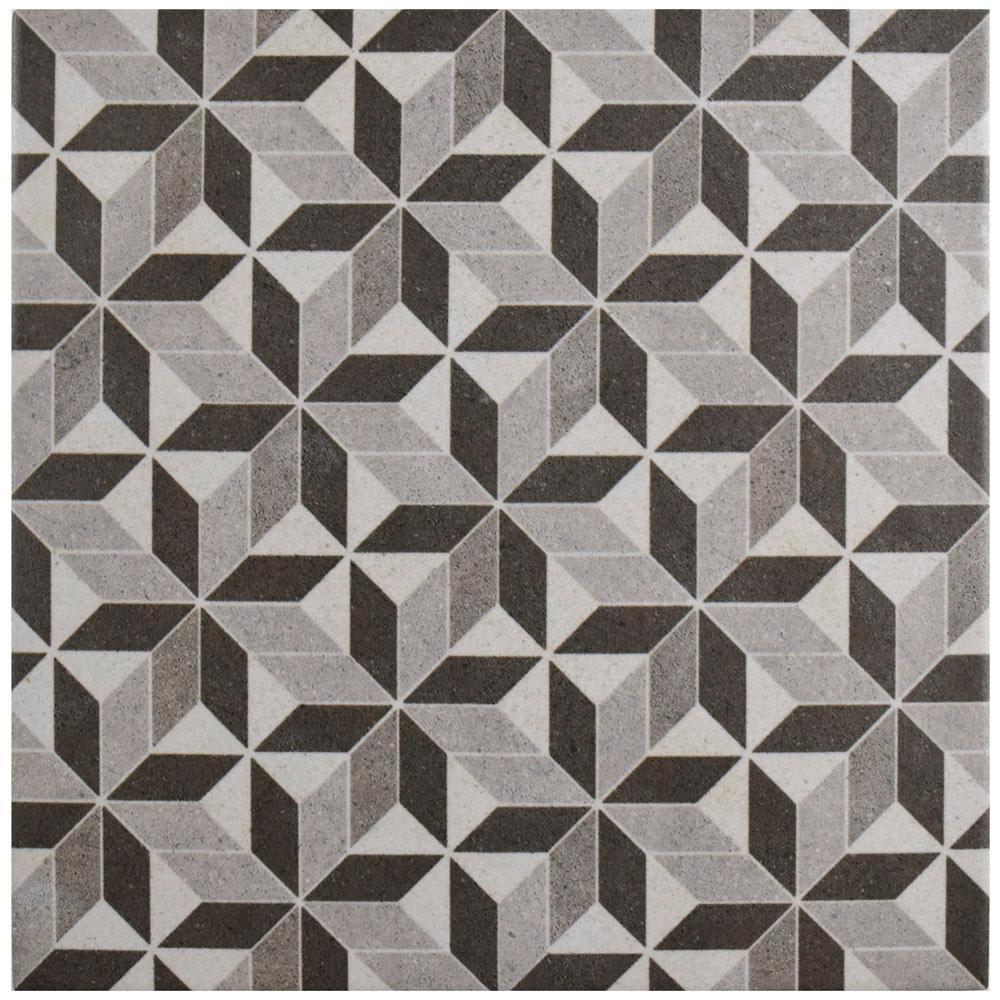 Merola Tile Vintage Kubic In X In Porcelain Floor And - Artisan tiles sale