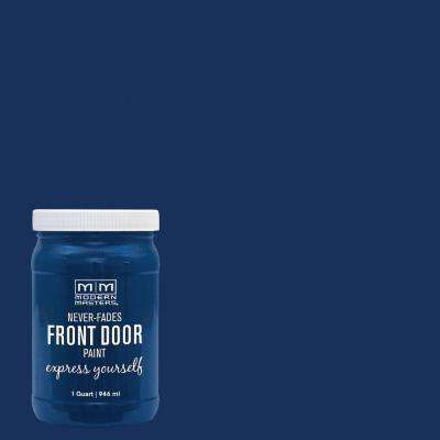 Express Yourself 1 qt. Satin Calm Front Door Paint