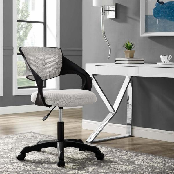 MODWAY Thrive Mesh Office Chair in Gray EEI-3041-GRY