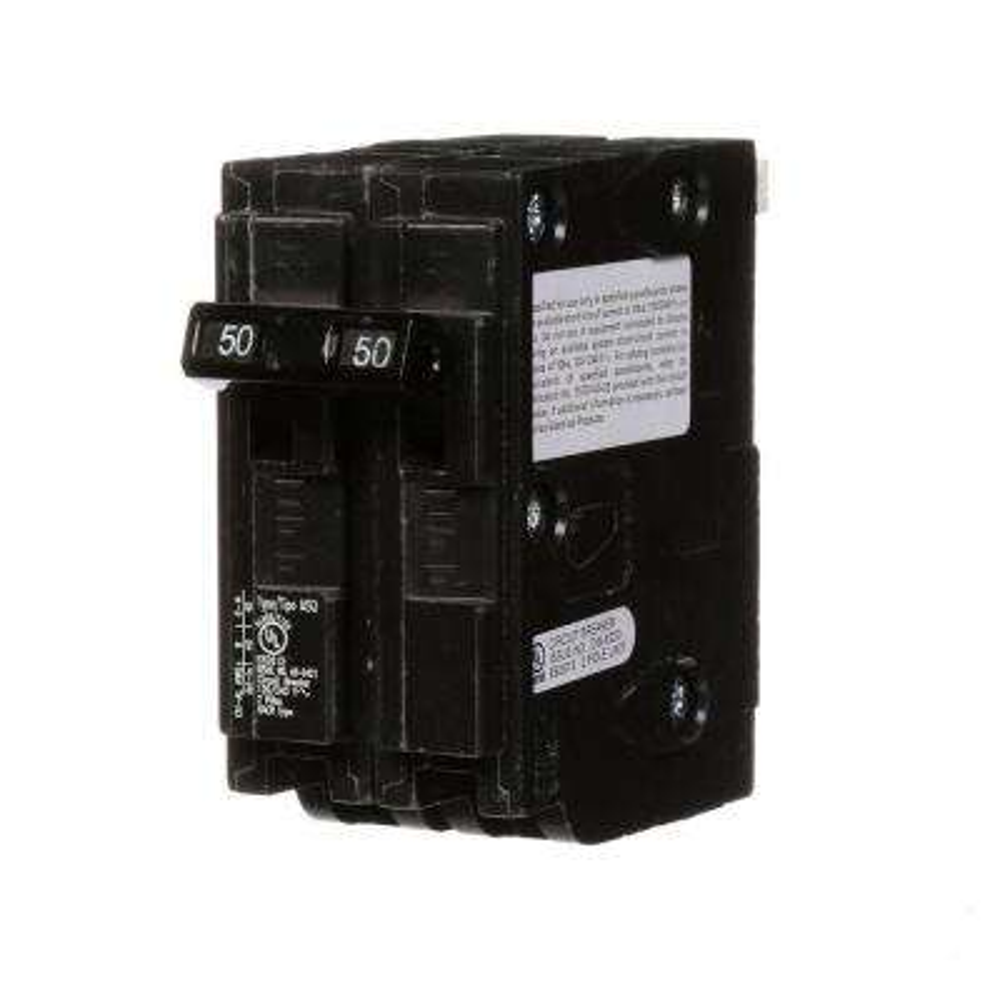 50 Amp Double-Pole Type MSQ QO Replacement Circuit Breaker