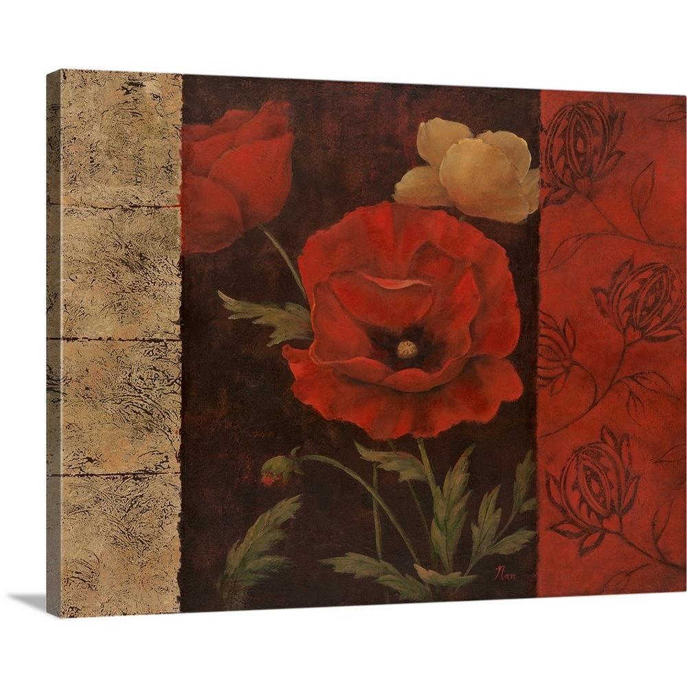 """""""Garden Treasure II"""" by Nan F Canvas Wall Art"""