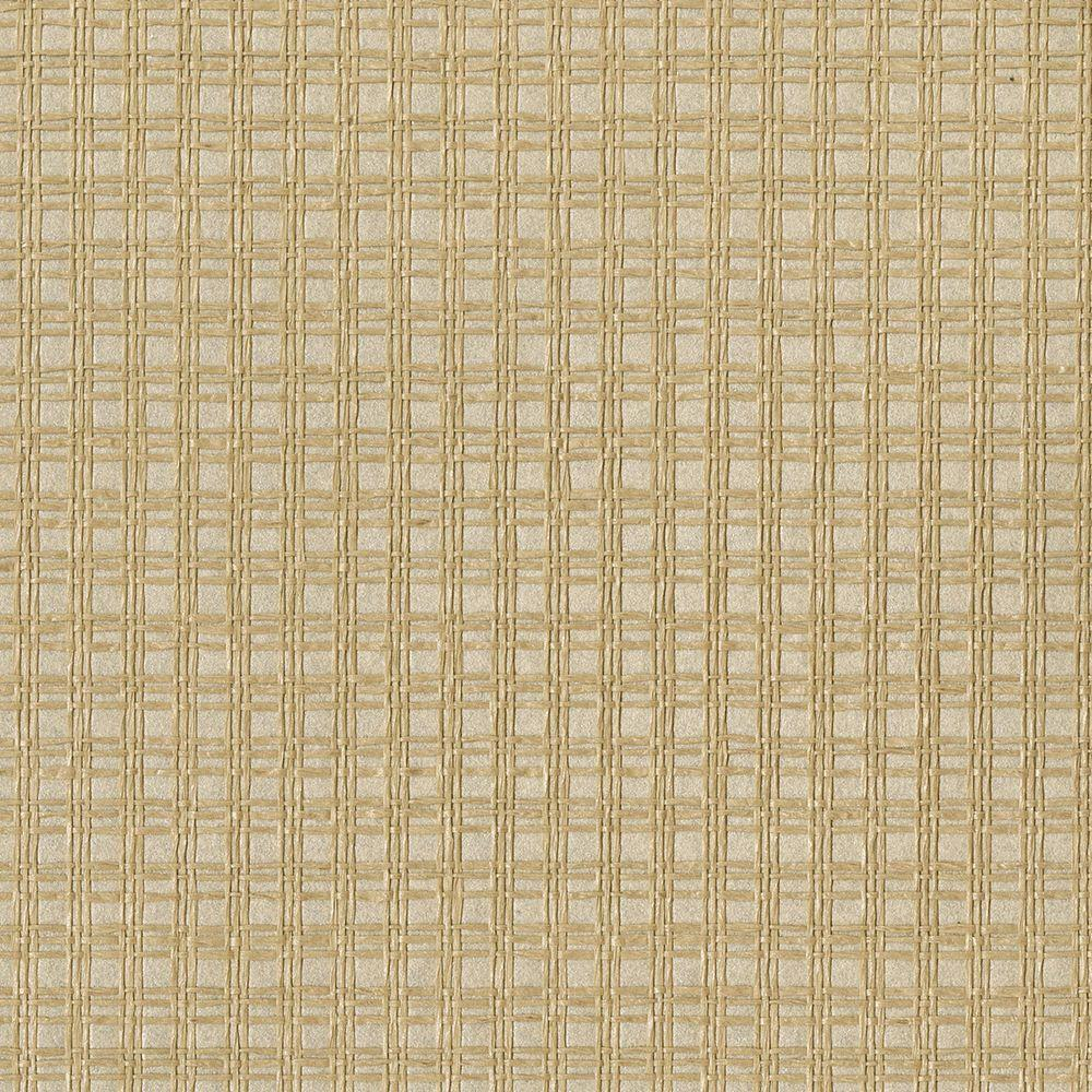 Tomek Beige Paper Weave Wallpaper Sample