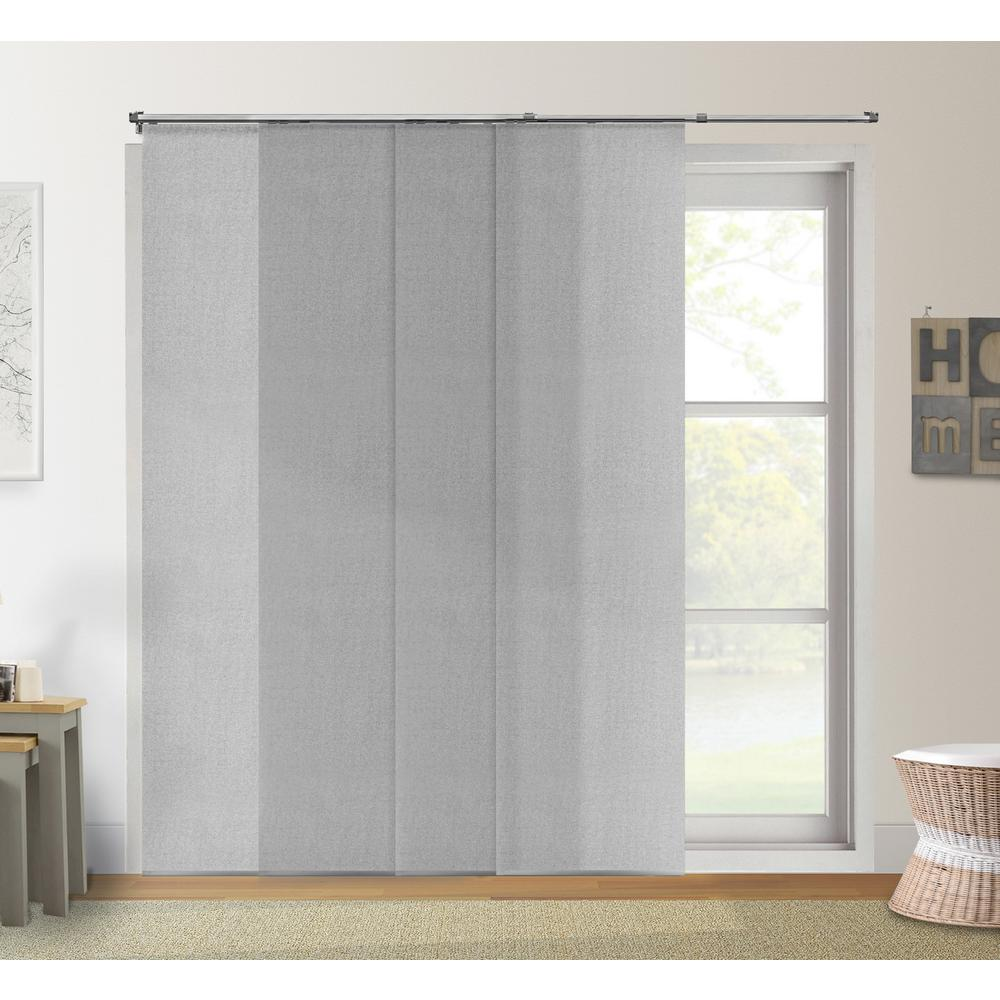 Adjustable Sliding Panel / Cut To Length, Curtain Drape Vertical Blind,