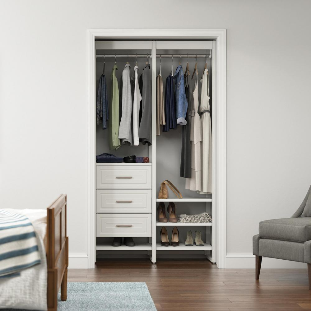 CLOSETS By LIBERTY 16.75 in. D x 46.5 in. W x 84 in. H ...