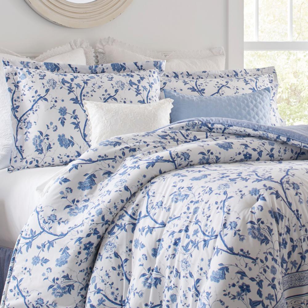 Laura Ashley Veronique 4 Piece Blue, Laura Ashley Bluebell Bedding