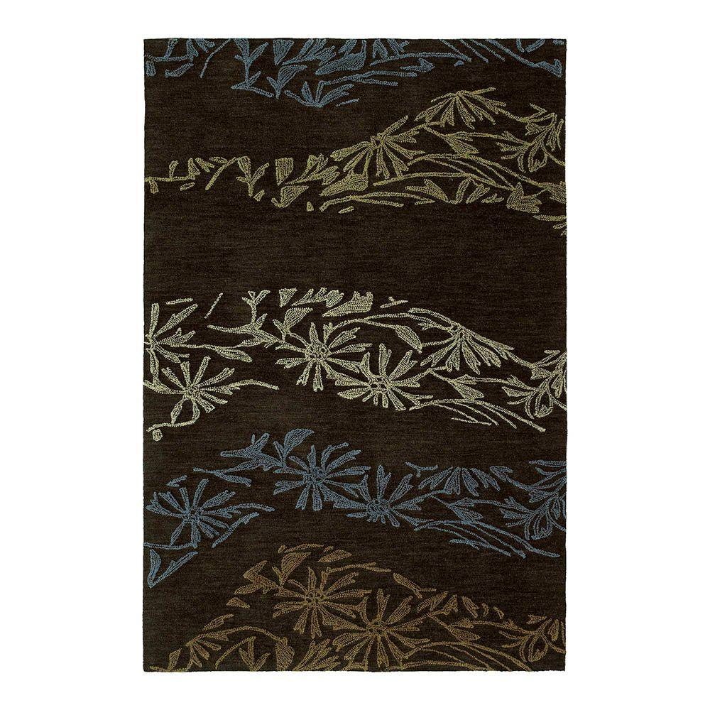 Inspire Accolade Chocolate 5 ft. x 7 ft. 6 in. Area