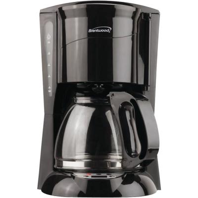 12-Cup Coffee Maker in Black