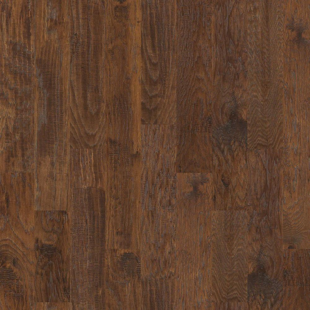 Take Home Sample Canyon Hickory Fawn Engineered Hardwood Flooring 6 3 8 In X