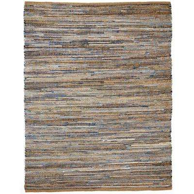 American Graffiti Tan 3 ft. x 8 ft. Area Rug