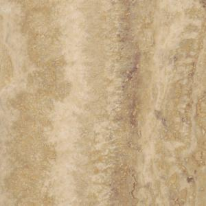 Take Home Sample   Allure Ivory Travertine Resilient Vinyl Tile Flooring    4 In. X