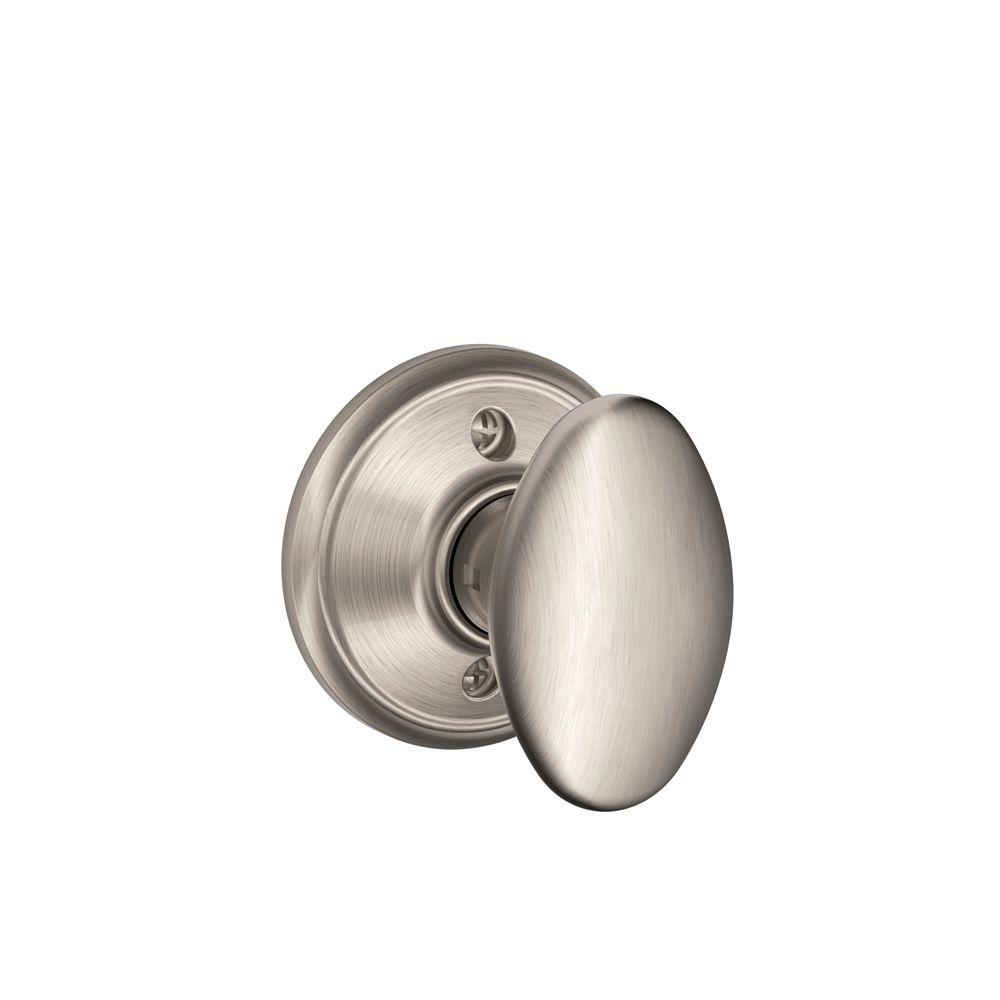 Charmant Schlage Siena Satin Nickel Dummy Door Knob