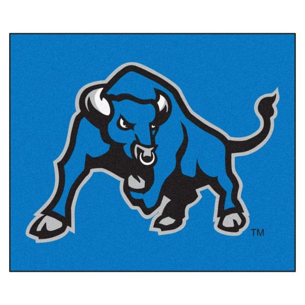 NCAA State University of New York at Buffalo Blue 5 ft. x 6 ft. Area Rug
