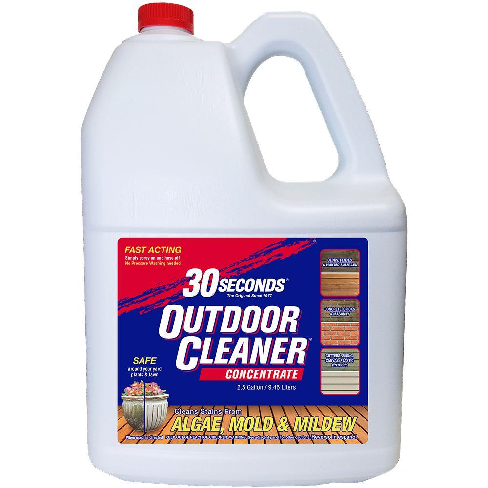 30 Seconds 2.5 Gal. Outdoor Cleaner Concentrate-100059523 ...