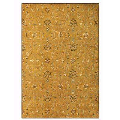 Grimsby Amber/Gold 6 ft. x 9 ft. Area Rug