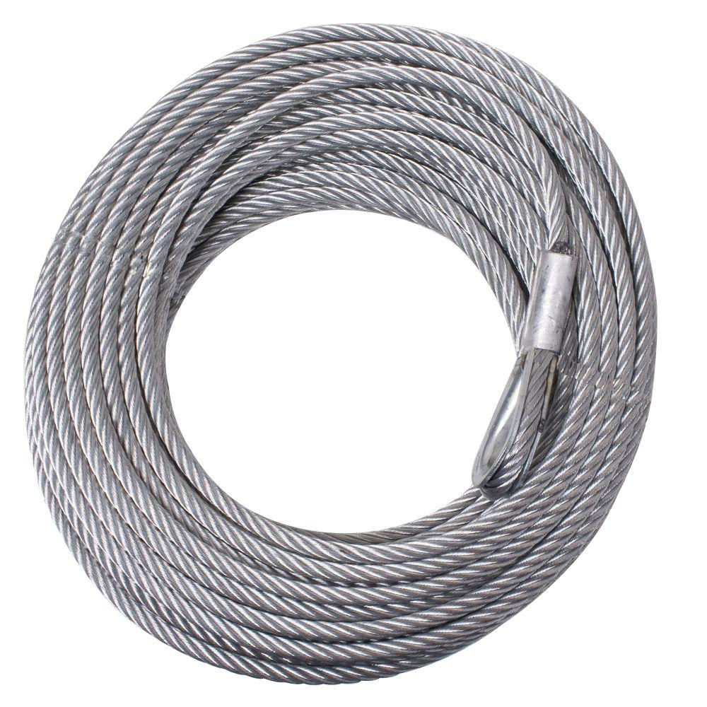 Rugged Ridge 5/16 in. x 94 ft. Steel Winch Cable-15103.01 - The Home ...