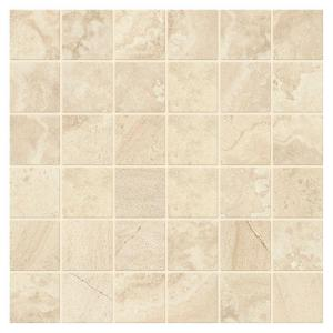 Developed by Nature Rapolano 12 in. x 12 in. x 6 mm Glazed Ceramic Random Mosaic Floor and Wall Tile (1 sq. ft. / piece)