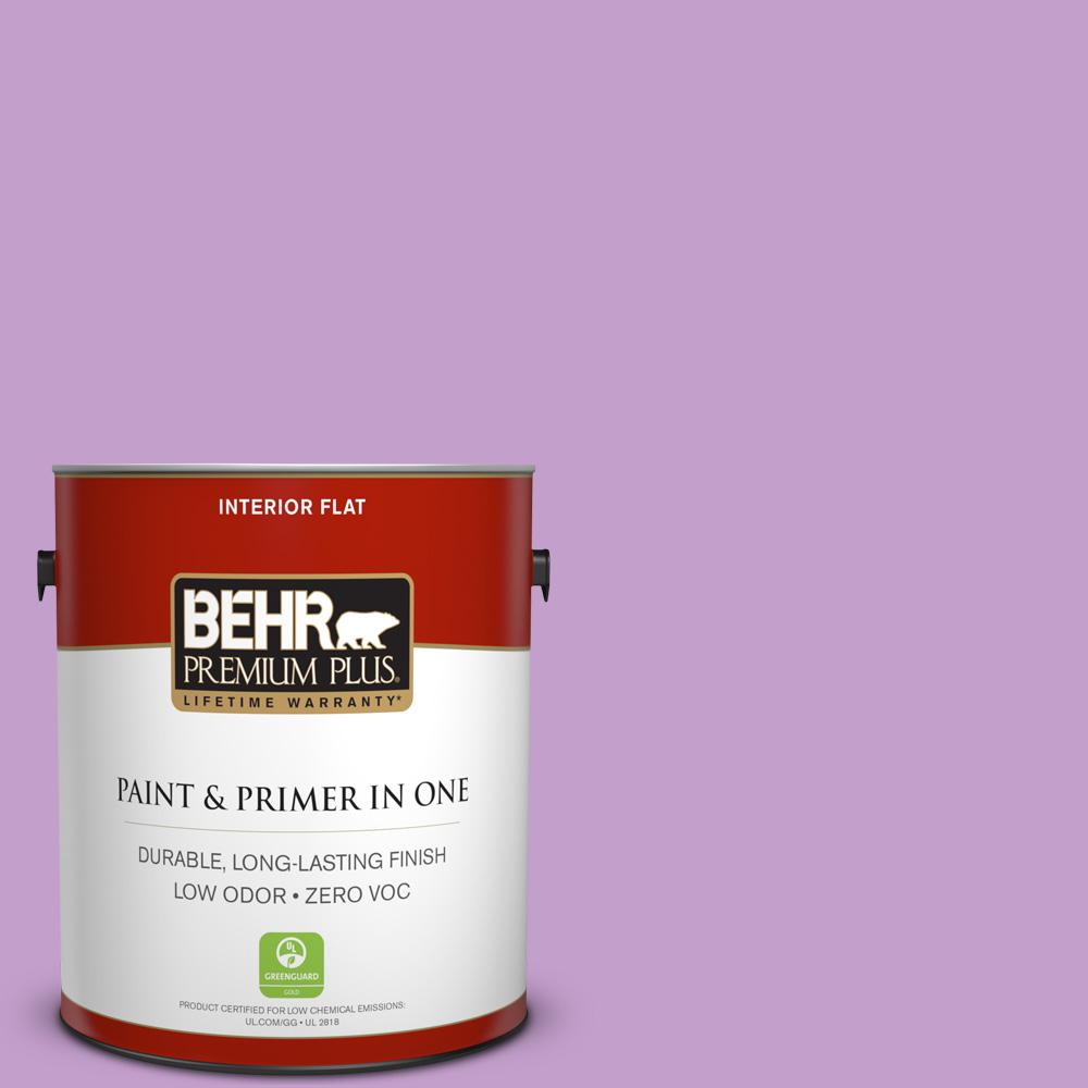 1-gal. #P100-4 Lover's Knot Flat Interior Paint