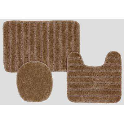 Veranda Bath Rug Bark Set