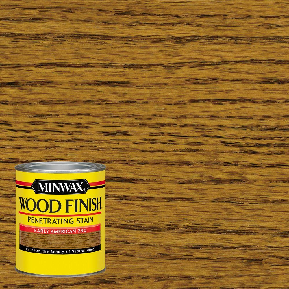 Minwax 1 qt. Wood Finish Early American Oil Based Interior Stain