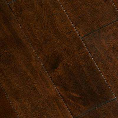 Hand Scraped Birch Heritage 1/2 in. T x 5-3/4 in. W x Varying Length Engineered Hardwood Flooring (22.68 sq. ft. / Case)