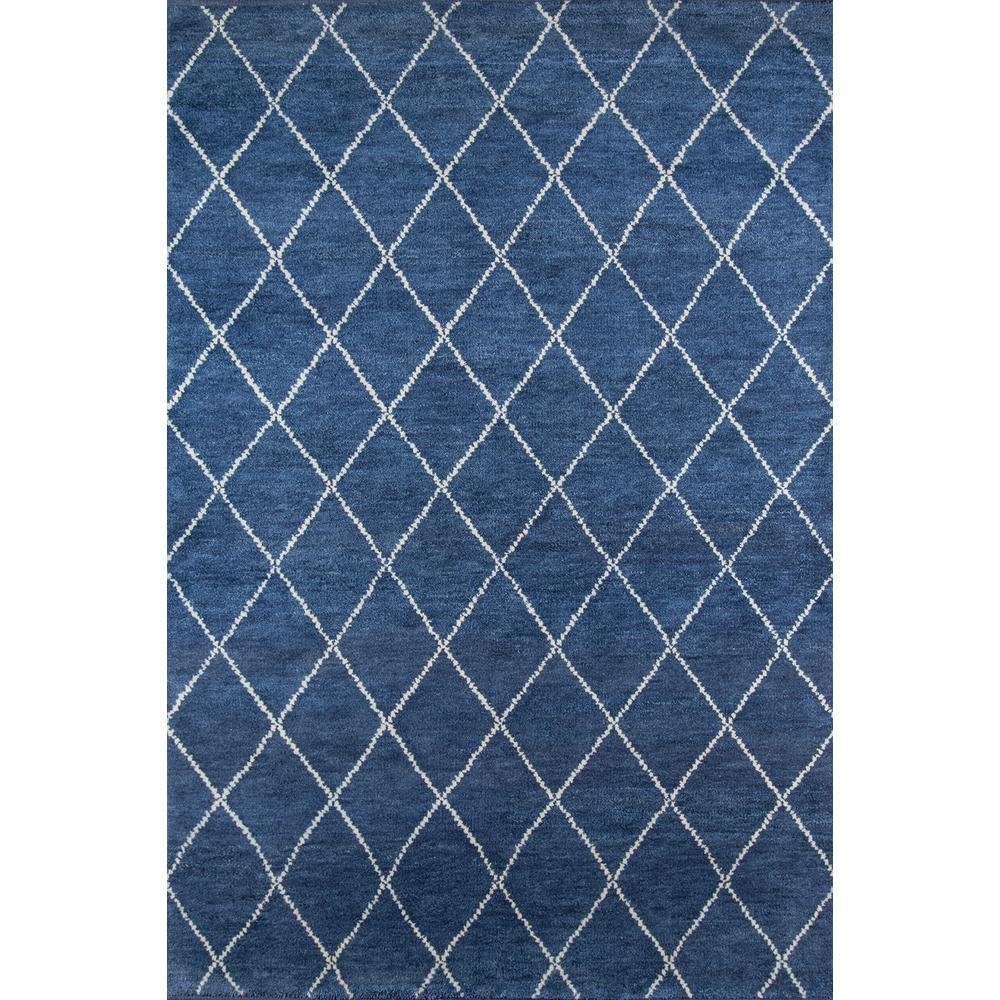 Momeni Atlas Atl 5 Navy 10 Ft X 14 Hand Knotted Wool Area Rug