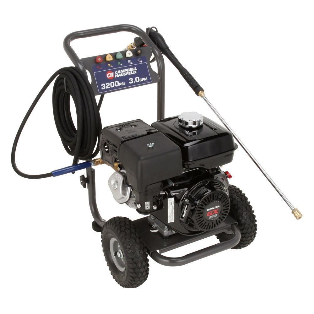 Campbell Hausfeld 3200-PSi 3-GPM AR Pump Gas Pressure Washer
