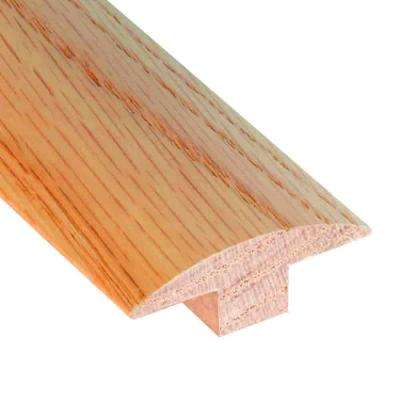 Unfinished Oak .647 Thick x 2 in. Wide x 78 in. Length T-Molding