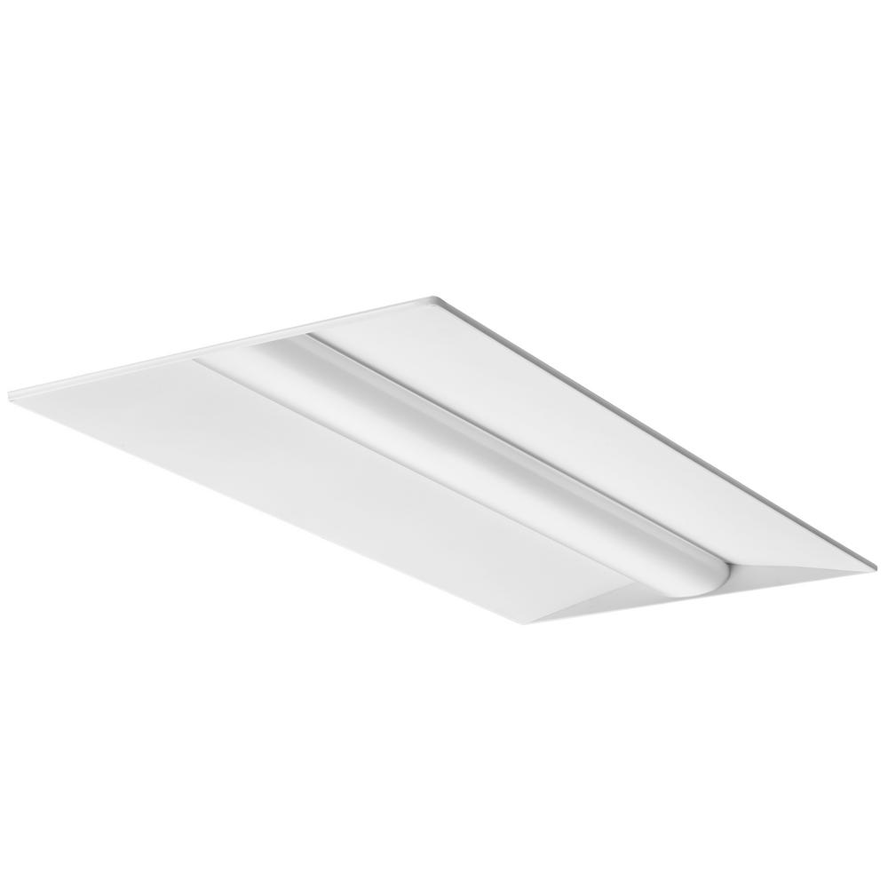 2 ft. x 4 ft. 34-Watt White Integrated LED Troffer