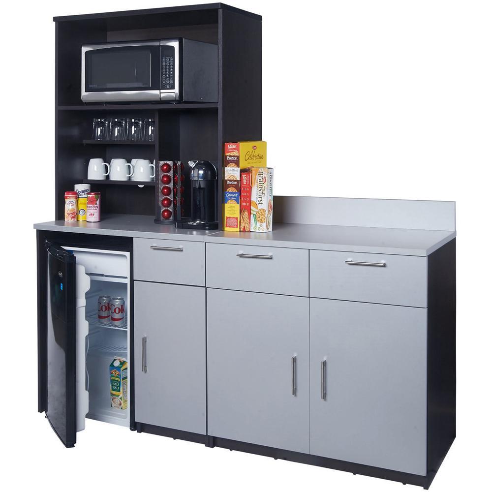Home Depot Coffe Cabinet Break Room