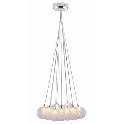 Cosmos 12-Light Clear Ceiling Pendant