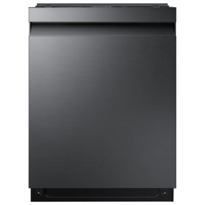 24 in Top Control StormWash Tall Tub Dishwasher in Black Stainless Steel with AutoRelease Dry and 3rd Rack, 42 dBA