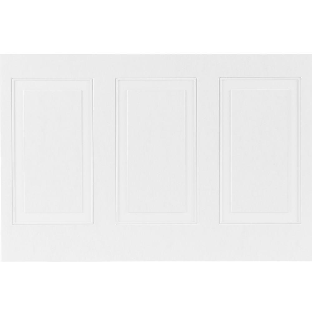 1/4 in. x 32 in. x 48 in. MDF Wainscot Panel