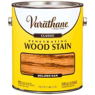 1 gal. Golden Oak Classic Wood Interior Stain (2-Pack)