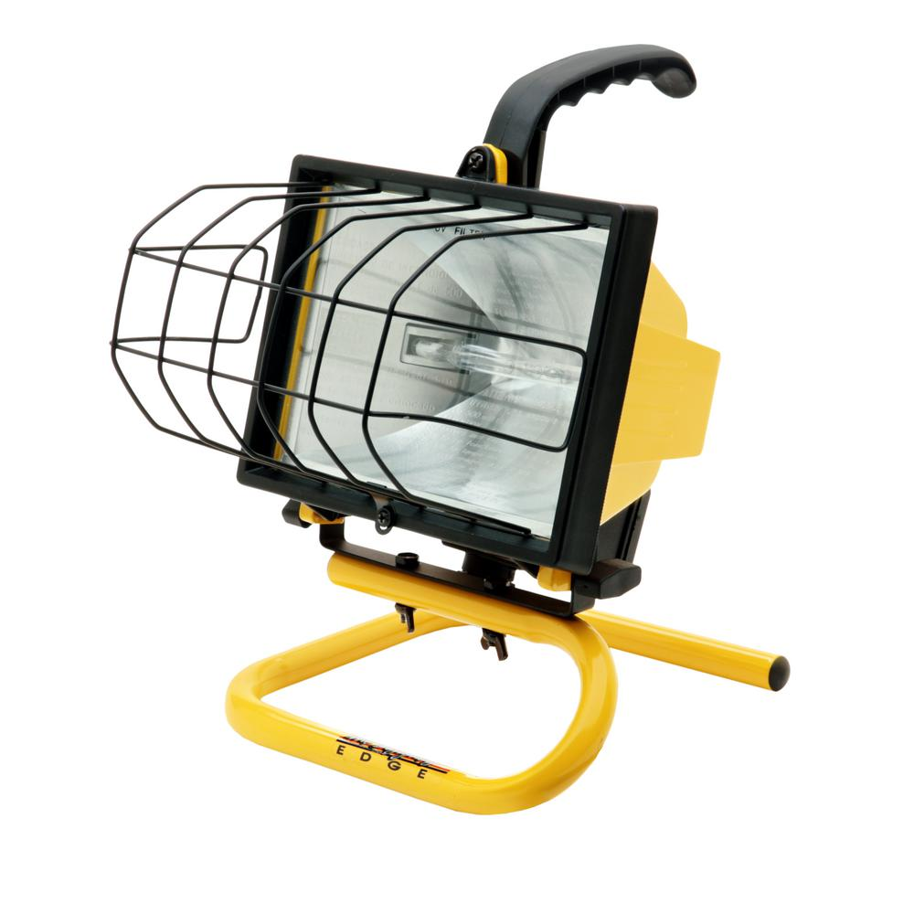 Craftsman 500 Watt Halogen Worklight: Southwire 500-Watt Portable Halogen Work Light-L20SW