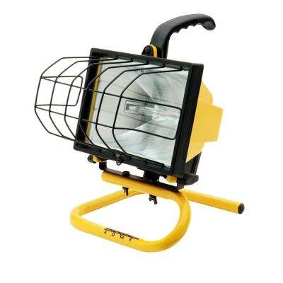 500-Watt Portable Halogen Work Light