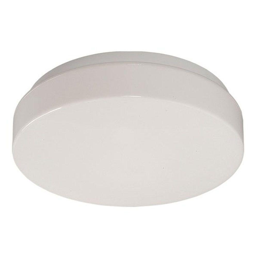 Filament Design Negron 2-Light White Fluorescent Flush Mount